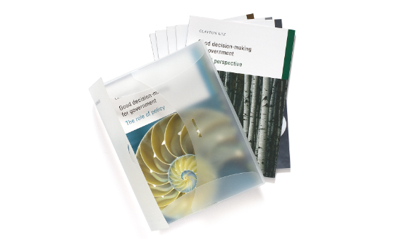 Clayton Utz Series of Good Decision Making Booklet Pack