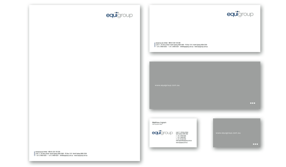 equigroup - Stationery Design