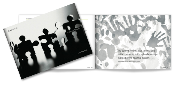 Clayton Utz - Community Connect Annual Report 2004