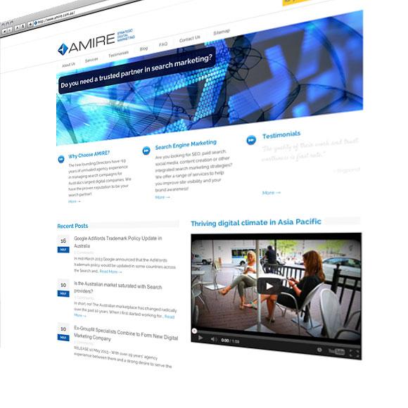 AMIRE Website Development